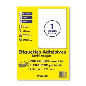 planche A4 étiquette autocollante étiquettes fba amazon ebay relais colis collisimo ups